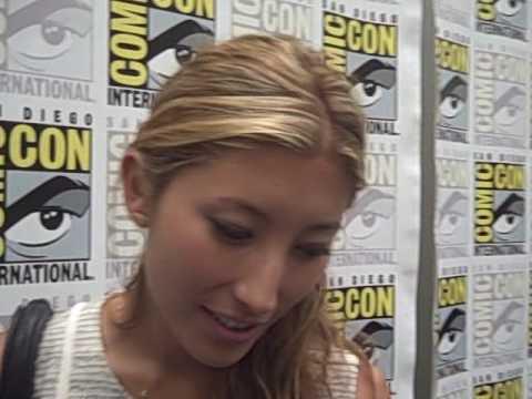 Fran Kranz and Dichen Lachman - 'Dollhouse' at Comic-Con ...