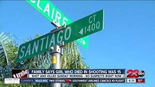 15-year-old girl identified as victim killed in South Bakersfield shooting
