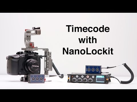 Timecode Demo with NanoLockit from Ambient Recording