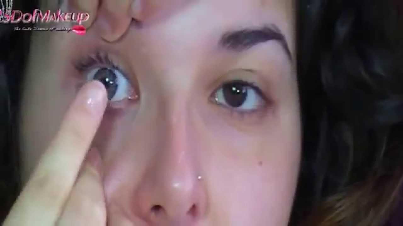 fa0b15c167f25 ▷ Cómo poner y quitar tus lentillas de manera fácil - YouTube