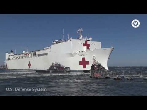 This is One of Two Hospital Ships in the Mercy-Class Maintained by the U.S. Navy