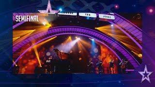 Hace llorar a Edurne con una canción para su padre fallecido | Semifinal 5 | Got Talent España 2018