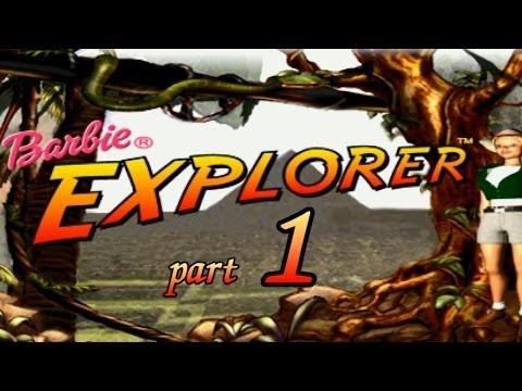 Barbie Explorer часть 1 Тропический лес и деревня