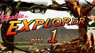 """Barbie Explorer часть 1 """"Тропический лес и деревня"""""""