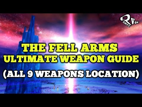 All Fell Arms Weapons Guide - Tales Of Vesperia Definitive Edition