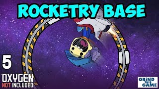 ROCKETRY UPGRADE BASE #5 - Oxygen Not Included - Saving Power with Gas Shutoff