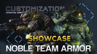 Noble Team Armor Showcase! Halo 5: Guardians (Memories of Reach May Update)