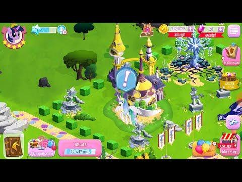 КУПИЛА СЕЛЕСТИЮ, УРААА! Чёрная пятница в игре MY LITTLE PONY (gameloft)!