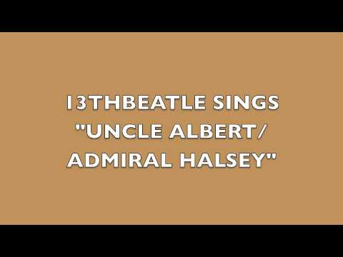 UNCLE ALBERT/ADMIRAL HALSEY-PAUL MCCARTNEY COVER