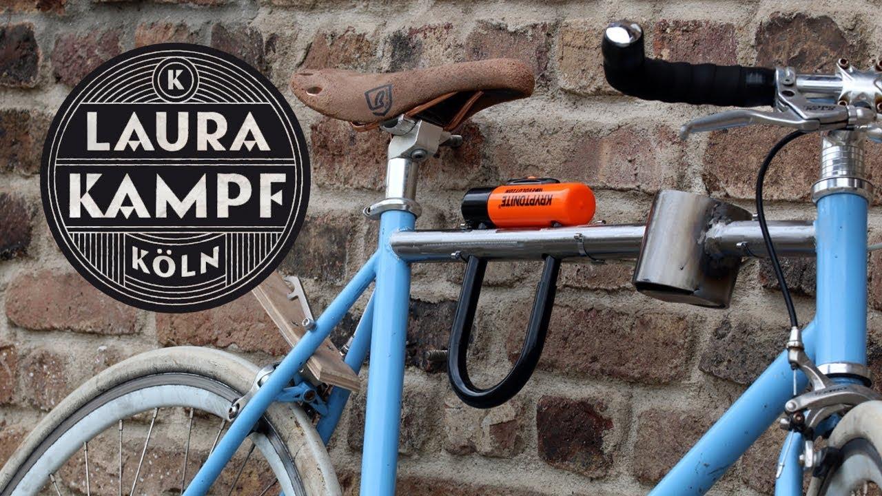 Laura S Bike Lock Holder Frame Integrated Youtube