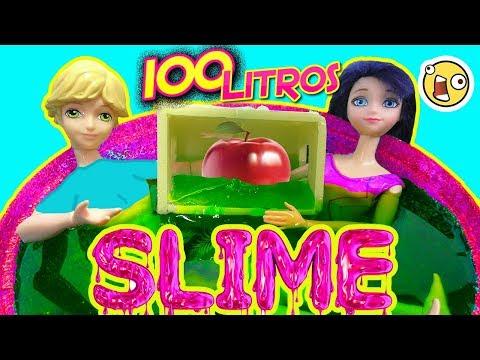 Piscina de SLIME con RETOS Extremos con Marinette y Adrien