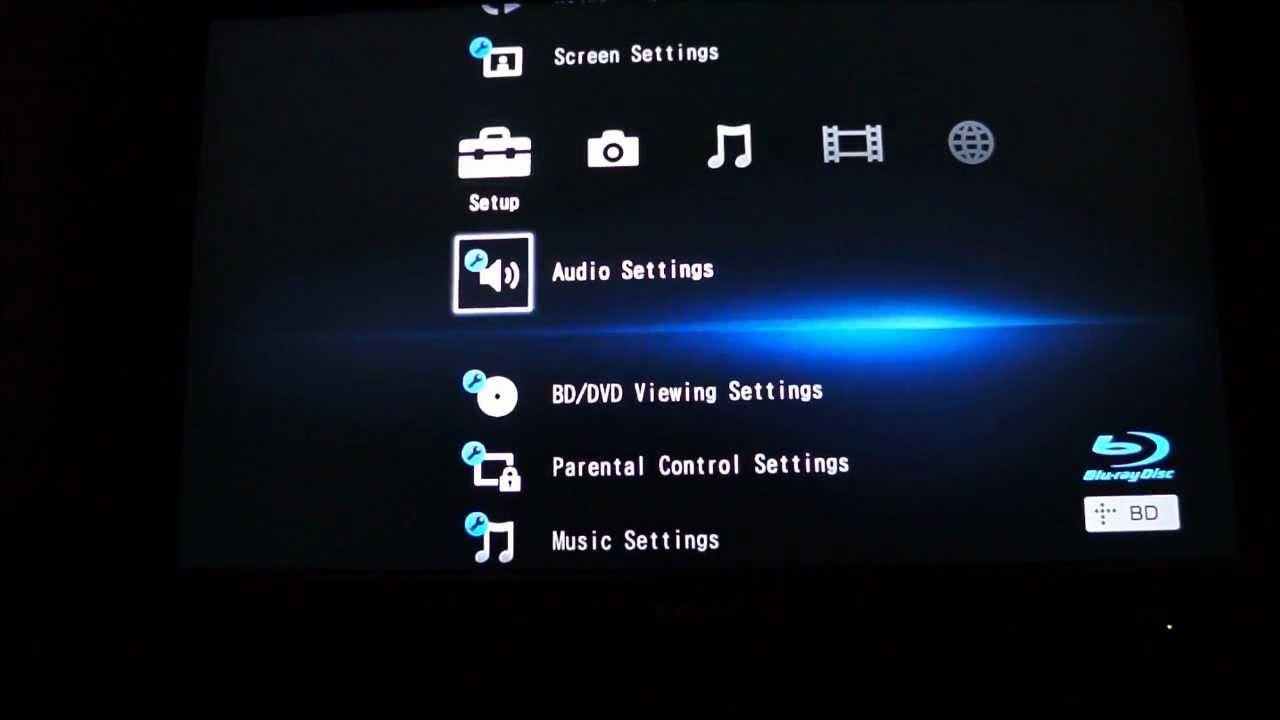 Firmware screen