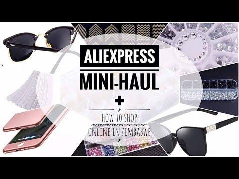 ALIEXPRESS Mini-Haul ~ Buying Online in Zimbabwe || ZIMBABWEAN YOUTUBER