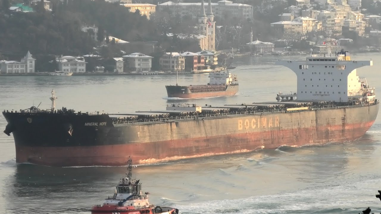 Download Winter Shipspotting in Istanbul Strait - January 2021