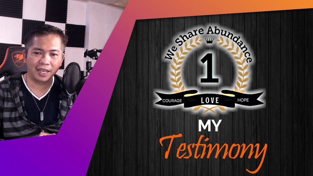 My We Share Abundance Testimonial