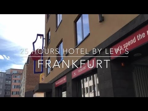 25h hotel by levi 39 s frankfurt youtube. Black Bedroom Furniture Sets. Home Design Ideas