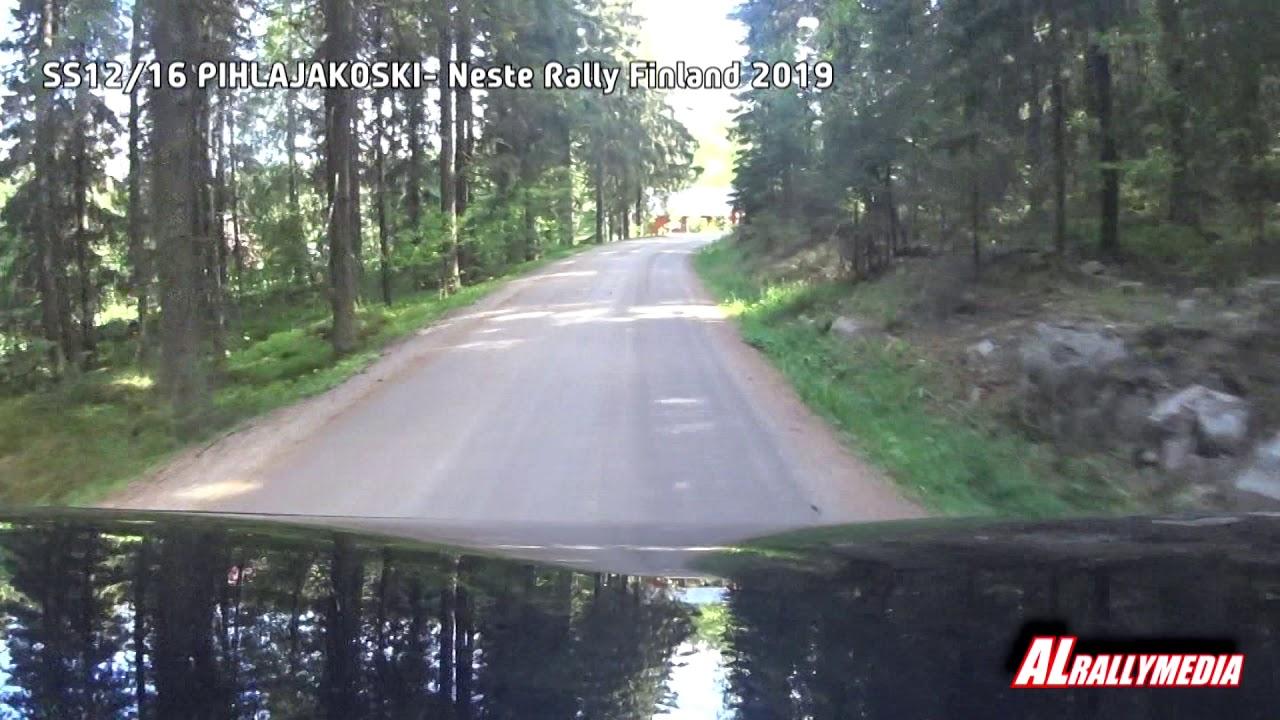 Wrc Rally Finland 2019 Ss12 16 Pihlajakoski Onboard Youtube