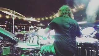 Abe Cunningham - Drum cams (from Instagram)