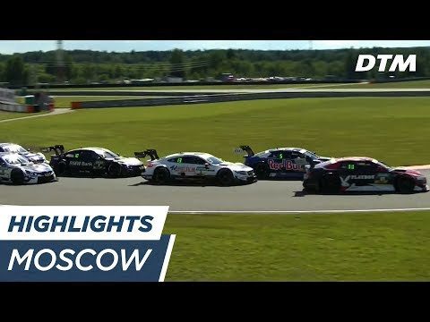 Highlights Race 1 - DTM Moscow 2017