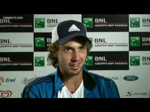 Ernests Gulbis Reflects On Beating Federer Rome 2010
