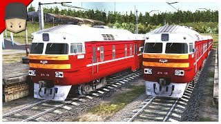 I LIKE TRAINS! - Workers & Resources: Soviet Republic (CITY BUILDER TYCOON GAME) thumbnail
