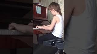 Танец маленьких лебедей на пианино. Никите 7 лет