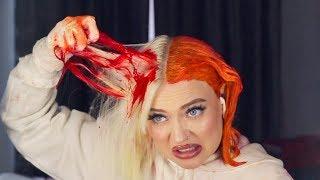 i'm trying split hair dye
