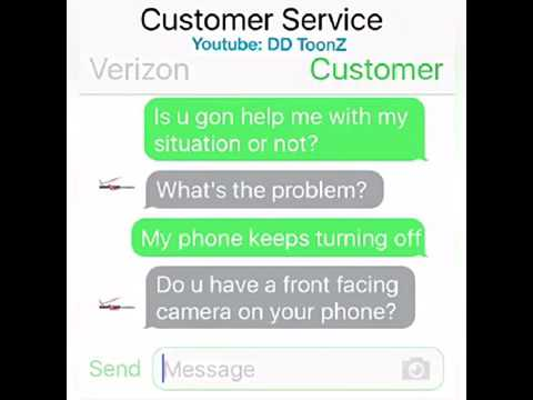 Customer Service Chat With Verizon