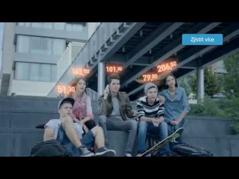 Předplacená O2 karta: Pusťte kredit z hlavy (TV reklama)