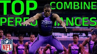 Top NFL Combine Performances of the Past 10 Years | NFL Highlights