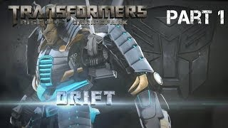 Let's Play: Transformers Rise of the Dark Spark - Part 1 - Drift (PS4)