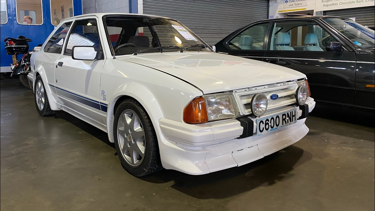We Find A Ford Escort RS Turbo Series 1 Classic Car Auction