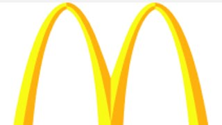How to draw fast food logos (McDonald