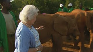 Saying goodbye to the queen of the elephants