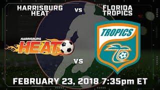 Harrisburg Heat vs Florida Tropics