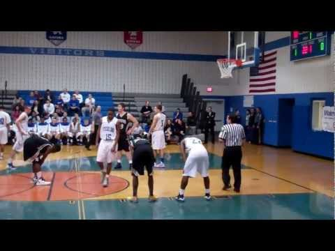 Deptford High School vs Sterling High School Boy's Basketball Part1 (2/25/13)