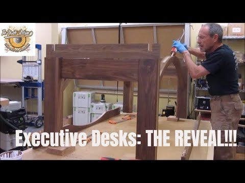 executive-desks-part-2:-the-reveal!-handcrafted-woodwork.-how-to-make-an-executive-desk