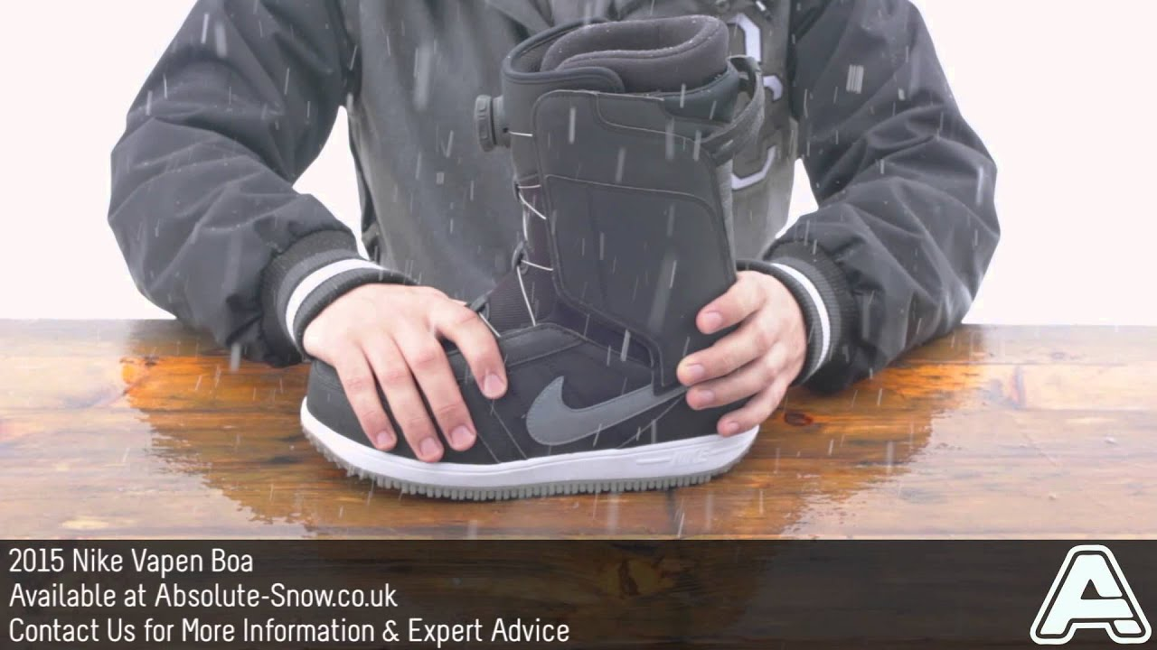 4a251d15 2014 / 2015 | Nike Vapen Boa Snowboard Boots | Video Review - YouTube