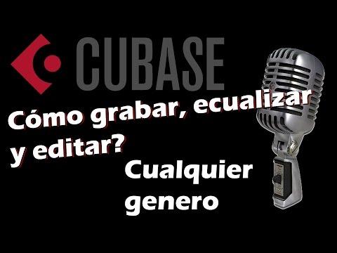 Cómo grabar, ecualizar y editar una cancion en Cubase 5 desde cero - Neradros