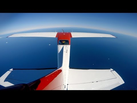 COMPLETE AVIONICS FAILURE OVER THE OCEAN