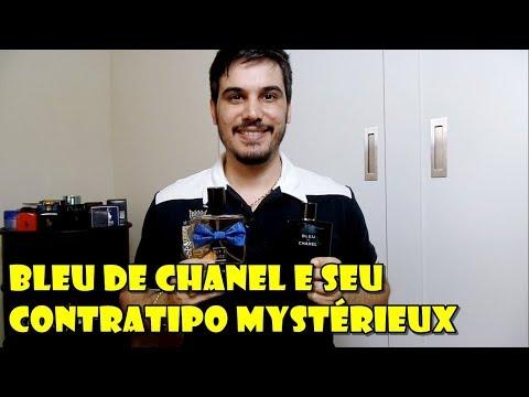 Bleu De Chanel E Seu Contratipo Mystérieux Da Paris Elysees - Será Que é Parecido?
