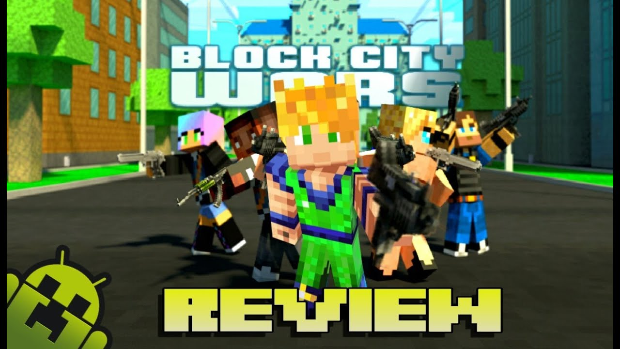 Block city wars Android gameplay - YouTube