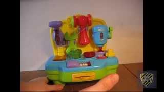 Обзор и распаковка торцовочно сверлильный станок(игрушка)