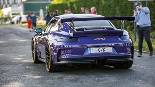 LOUD Porsche 991 GT3 RS with JCR Race Exhaust - CRAZY Accelerations & Downshifts !