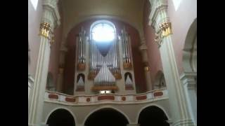 Органный концерт в Софийском соборе. Полоцк, 14 июля 2016(Зал в Софийском соборе г. Полоцка считается лучшим концертным залом Беларуси, уникальная акустика ( 4,5 секун..., 2016-07-22T14:38:39.000Z)
