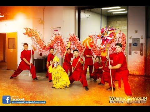 Walt Disney - LA PHIL - Los Angeles Philharmonic Grand Music Hall - Dragon Dance Team