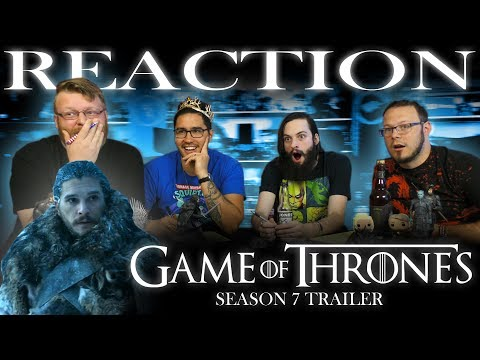 Game of Thrones Season 7 #WinterIsHere Trailer #2 REACTION!!