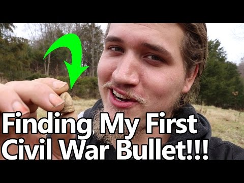 Thumbnail: I Found my FIRST Civil War Bullet With BirdDogg!!