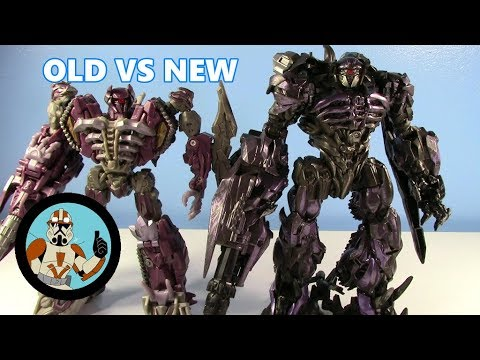 Transformers Dark Of The Moon Voyager VS Studio Series Leader SHOCKWAVE | Old VS New #18