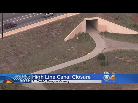 High Line Canal Trail Closed For 2 Months During C-470 Project